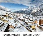 ski resort of passo del tonale...   Shutterstock . vector #1063819220