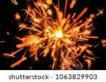 close up fireworks | Shutterstock . vector #1063829903