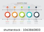 abstract  info graphic template ...   Shutterstock .eps vector #1063860803