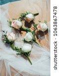 wedding flower ceremony | Shutterstock . vector #1063867478