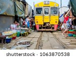 samut songkhram  thailand  ...   Shutterstock . vector #1063870538