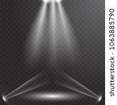 ufo light beam isolated on...   Shutterstock .eps vector #1063885790