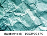 old paper with wrinckles in... | Shutterstock . vector #1063903670