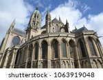 cathedral in bayeux  normandy | Shutterstock . vector #1063919048