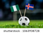 nigeria   iceland  group d ... | Shutterstock . vector #1063938728