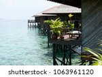 lodge sea view    Shutterstock . vector #1063961120