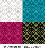 skittles bowling shapes... | Shutterstock .eps vector #1063964804