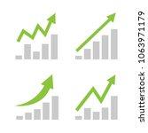 green business arrow going up    Shutterstock .eps vector #1063971179