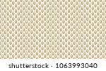 golden geometric pattern  part...   Shutterstock .eps vector #1063993040