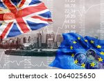Brexit Blue European Union Fla...