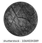 dark ball slate background or... | Shutterstock . vector #1064034389