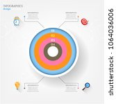 modern business infographic...   Shutterstock .eps vector #1064036006