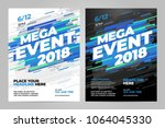 vector layout design template...   Shutterstock .eps vector #1064045330
