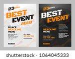 vector layout design template... | Shutterstock .eps vector #1064045333