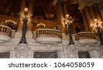 paris   april 1  2018  balcony... | Shutterstock . vector #1064058059