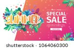 template design banner for... | Shutterstock .eps vector #1064060300