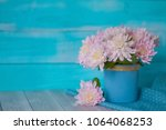 Background With Bouquet Of Pink ...