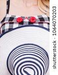 tailoring  patterns concept.... | Shutterstock . vector #1064070203