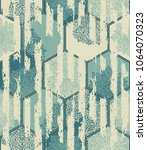 seamless pattern  patchwork... | Shutterstock .eps vector #1064070323