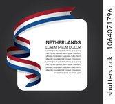 netherlands flag background   Shutterstock .eps vector #1064071796