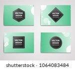 color medical  technological ... | Shutterstock .eps vector #1064083484