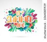 template design banner for... | Shutterstock .eps vector #1064085929
