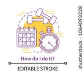 sport exercises concept icon....   Shutterstock .eps vector #1064093228