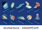 isometric biometric... | Shutterstock .eps vector #1064095169