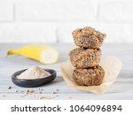 healthy gluten free homemmade... | Shutterstock . vector #1064096894