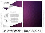 dark purple vector  layout for...
