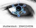 omnichannel retail concept.... | Shutterstock . vector #1064114336
