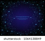 abstract image of a... | Shutterstock .eps vector #1064138849