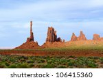 Totem Pole Monument Valley...