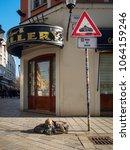 bratislava  slovakia april 2 ... | Shutterstock . vector #1064159246