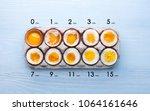 Eggs In Varying Degrees Of...