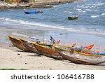 landscape of muine in vietnam | Shutterstock . vector #106416788