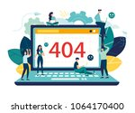 business concept vector... | Shutterstock .eps vector #1064170400