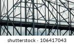 steel bridge | Shutterstock . vector #106417043