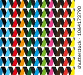 pattern with a black base...   Shutterstock .eps vector #1064173790