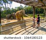 phu quoc  vietnam   february 12 ... | Shutterstock . vector #1064180123