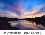 Vibrant Sunset Landscape