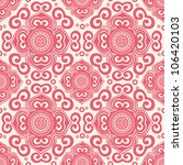 ornate seamless pattern ... | Shutterstock .eps vector #106420103