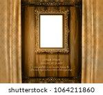 beautiful splendor of wood... | Shutterstock .eps vector #1064211860
