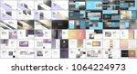 set of minimal presentations ... | Shutterstock .eps vector #1064224973