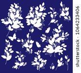 leaf illustration object. it...   Shutterstock .eps vector #1064233406