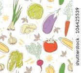 vegetables | Shutterstock .eps vector #106425539