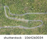 top view. aerial view from... | Shutterstock . vector #1064260034