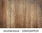 aged wood background and... | Shutterstock . vector #1064264924