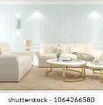 interior living room  modern... | Shutterstock . vector #1064266580
