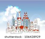 city background | Shutterstock .eps vector #106428929